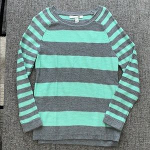 Striped crew neck sweater from Forever 21